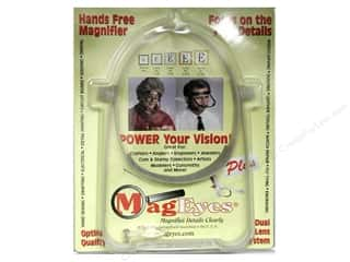 Sight Aids Yarn & Needlework: MagEyes Hands Free Magnifiers Plus with #2 & #4 & Loupe