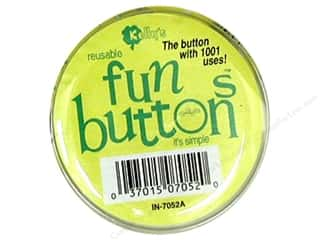 Queen & Company Novelty Buttons: Kelly's Fun Button With Insert 2.25 (12 pieces)