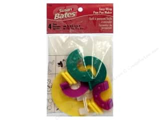 Fringe Makers / Tassel Makers / Pom Pom Makers: Bates Pom-Pon Maker Easy Wrap