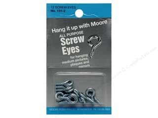 Moore Screw Eyes Round Head 12 pc.