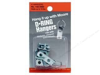 Moore D Ring Small 2 Screws 4 pc