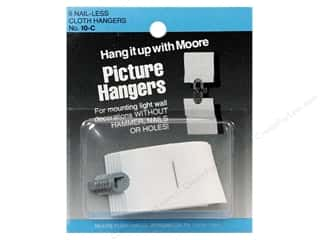 Hammers Home Decor: Moore Picture Hangers Interlocking Cloth 6pc