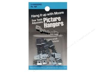 Moore: Moore Picture Hangers Saw Tooth w/Nails Small 5pc (3 packages)