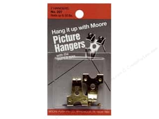 Moore Picture Hangers with Super Nail 50lb 2pc
