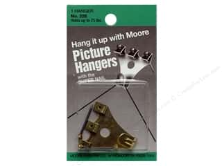 Moore Picture Hangers with Super Nail 75lb 1pc