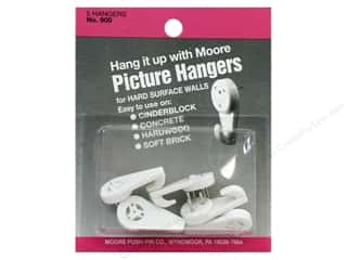 Moore Picture Hangers Hardwall 5pc