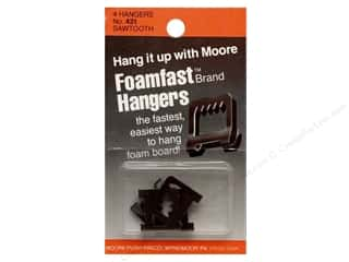 Foam Daubers Art Accessories: Moore Picture Hangers Foamfast Saw Tooth 4pc
