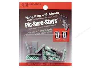 Moore Picture Hangers Pic-Sure-Stay 12pc