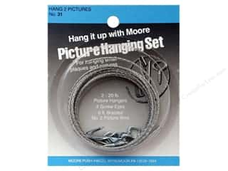 Hangers $4 - $6: Moore Picture Hanging Kit (Two Pictures)