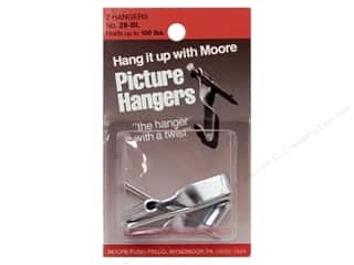 Moore: Moore Mirror Hangers Clip & Screw 4 pc Metal