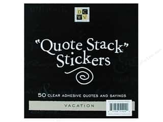 DieCuts Sticker Quote Stack 10pc Vacation