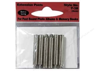 Pioneer Photo Album Inc Wedding: Pioneer Extender Post Extra Long 6pc