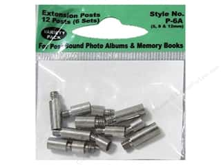 Pioneer Photo Album Inc Photo Albums & Scrapbooks: Pioneer Extender Post Variety Pack 12pc