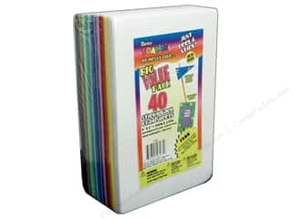 Craft Foam Sheets: Foamies Sticky Sheet 6 x 9 in. Assorted 40pc.