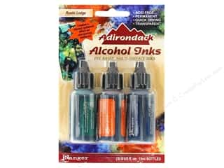 Tim Holtz Tim Holtz Adirondack Alcohol Ink by Ranger: Tim Holtz Adirondack Alcohol Ink Kit by Ranger Rustic Lodge