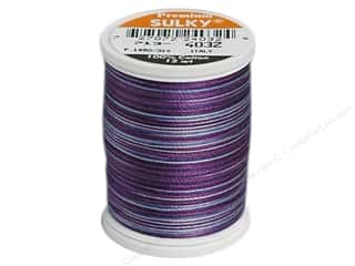 Sulky Sulky Blendables Cotton Thread 12 wt. 330 yd: Sulky Blendables Cotton Thread 12 wt. 330 yd. #4032 Iris