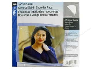 Covered Set In Shoulder Pads by Dritz White (3 pairs)