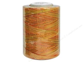 Coats &amp; Clark Star Variegated Mercerized Cotton Quilting Thread 1200 yd. Fall Leaves