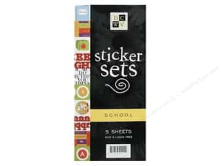 DieCuts Sticker Sets Mini 5 pc School (3 pieces)