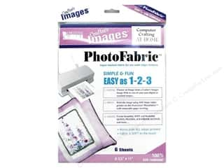 "Blumenthal Crafter's Images PhotoFabric 8.5""x11"" Silk Habotai 6pc"