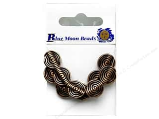 Bead Metal: Blue Moon Beads Metal Spiral 10 pc Copper