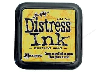 Ranger Height: Tim Holtz Distress Ink Pad by Ranger Mustard Seed