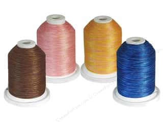 yli thread: YLI Variations 2 ply Poly Thread 1000yd