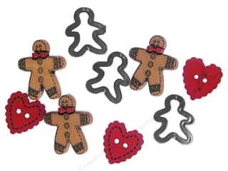 Jesse James Embellishments Gingerbread Cookies