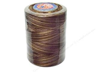 Coats & Clark Star Variegated Mercerized Cotton Quilting Thread 1200 yd. Chocolate Swirl