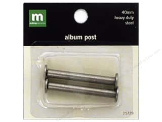 Making Memories Album Posts 40mm Steel 2pc