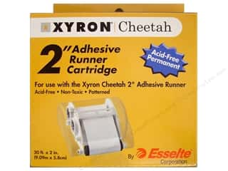 "School Length: Xyron Cheetah Adhesive Runner Refill Cartridge Permanent 2""x 30'"