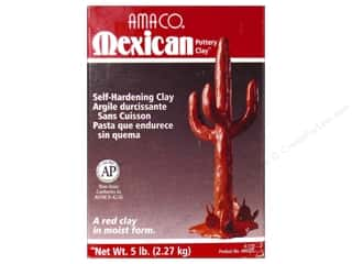 Weekly Specials Clay: Amaco Mexican Pottery Clay 5 lb.