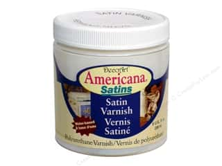 DecoArt Americana Satins Varnish 8oz Satin