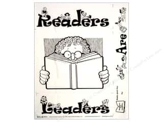 Quilting Fabric: Block Party Fabric Panel Readers Are Leaders (12 pieces)