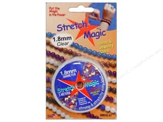 Stretch Magic Cord 1.8mm Clear 3m Carded