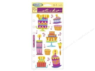 EK Cathy B Sticker Vellum Patty Cakes