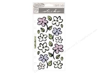 EK Sticko Stickers Vellum Flower Shower