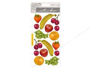 EK Sticko Stickers Vellum Fruity
