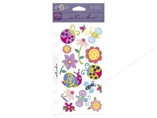 EK Sticko Stickers Bugs & Flowers