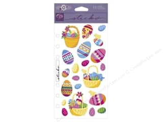 Scrapbooking Easter: EK Sticko Stickers Easter Eggs