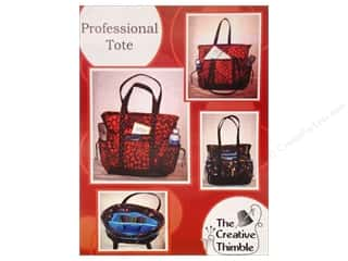 Quilted Trillium, The Tote Bags / Purses Patterns: Creative Thimble Professional Tote Pattern