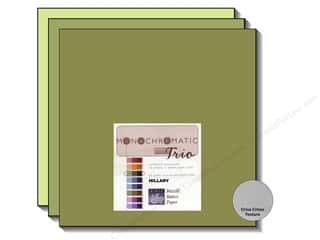 Bazzill: Bazzill Multi Pack 12x12 Trio Mono Hillary