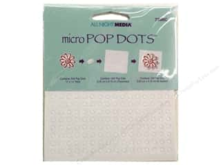 Glue Dots $7 - $16: All Night Media Pop Dots 1/8 in. Micro 544 pc.