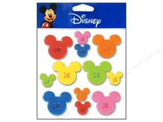 Mickey: EK Disney Sticker Buttons Mickey