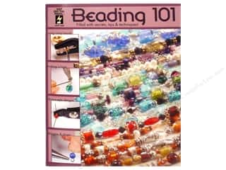 Books & Patterns Beading & Jewelry Making Supplies: Hot Off The Press Beading 101 Book