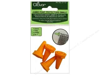 Knit Point  Protector: Clover Jumbo Point Protectors Small 4 pc.