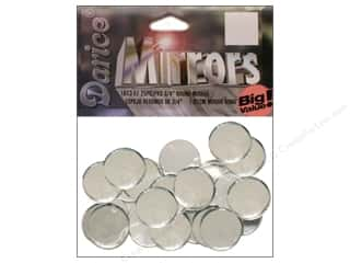 round mirror: Darice Mirrors Big Value Round 3/4 in. 25 pc.
