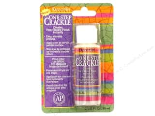 DecoArt Crackle Finish: DecoArt Crackle Finish One Step 2oz Carded