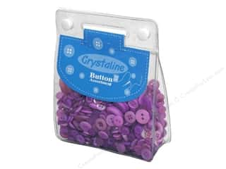 button: Dara Crystaline Button Assortment Lilac
