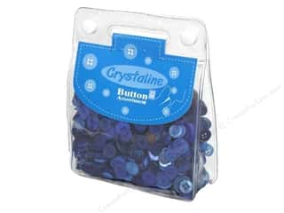 Dara Crystaline Button Assortment Blue